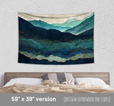 Gloomy Wall Hanging - Mountain Tapestry Cheap Home Decor | Brandless Artist