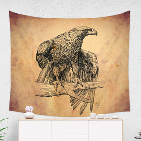 Falcon Tapestry Farmhouse Decor, Inspired Bird Decoration | Brandless Artist
