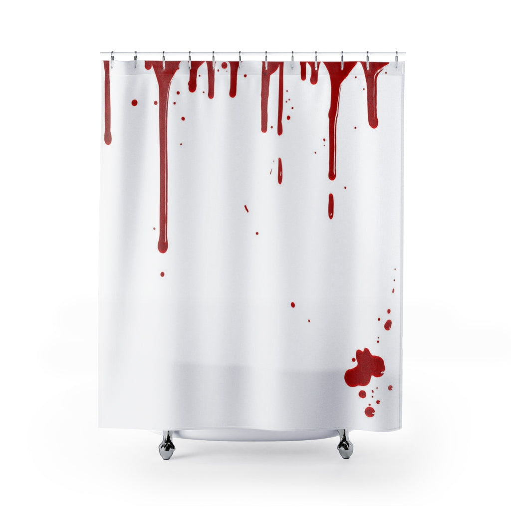 Bloody Shower Curtains - Halloween Shower Curtain | Brandless Artist