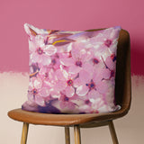 Cherry Blossom Pillow Cover - Floral Cushion | Brandless Artist