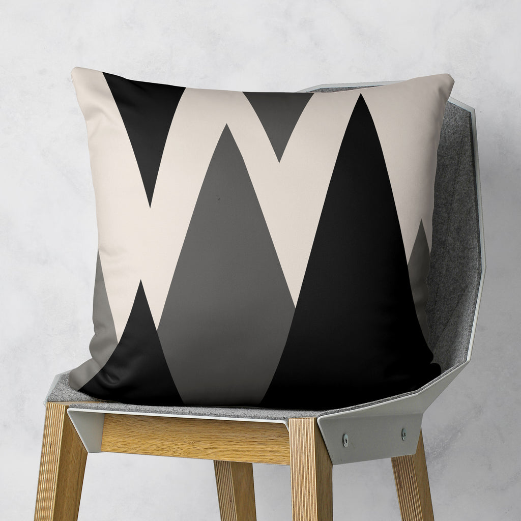 Simple Geometric Pillow - Modern Couch Decor | Brandless Artist
