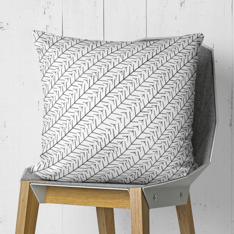 Black And White Tribal Throw Pillow | Brandless Artist