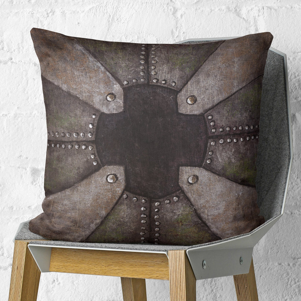 Metal Throw Pillow for Couch | Brandless Artist