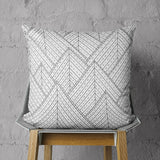 Triangle Pattern Pillow - Tribal Couch Throw Pillow | Brandless Artist