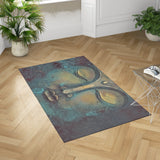 Buddha Dobby Rug in Room | Brandless Artist