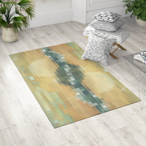 Pixel Dobby Rug in Room | Brandless Artist