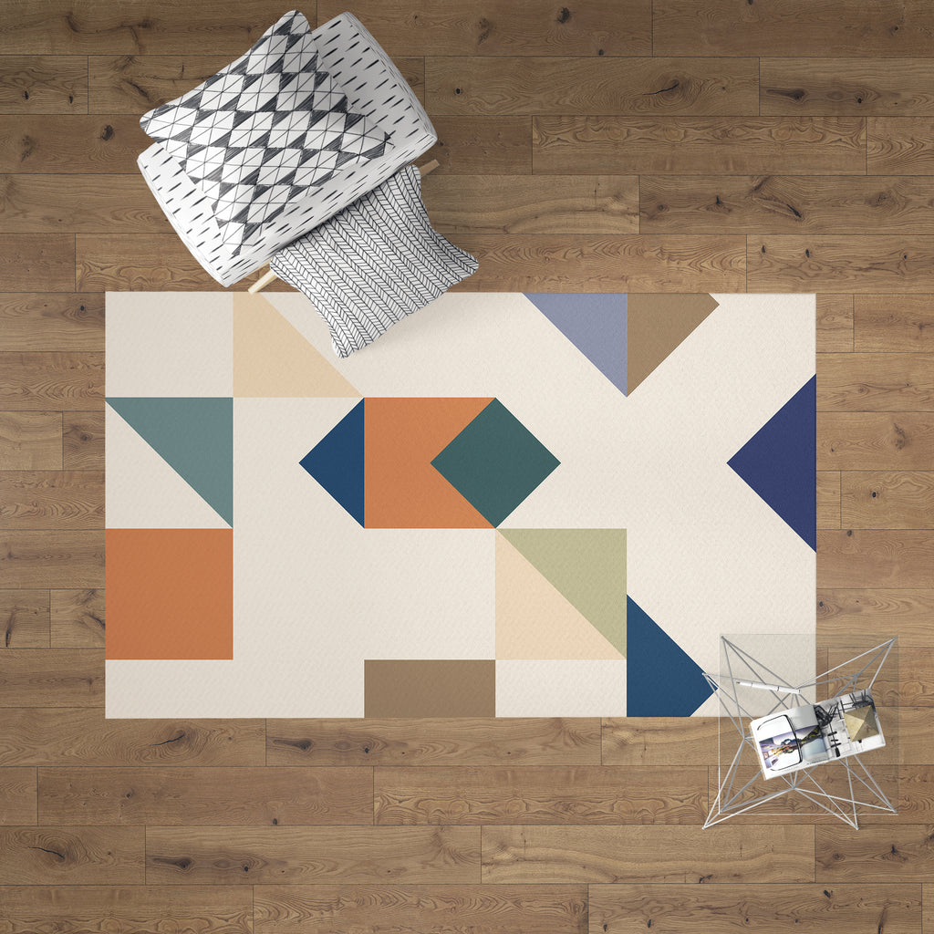 Geometric Fashion Rug | Brandless Artist