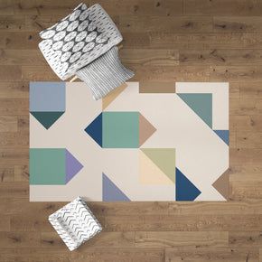 Modern Geometric Accent Rug Floor Decor | Brandless Artist