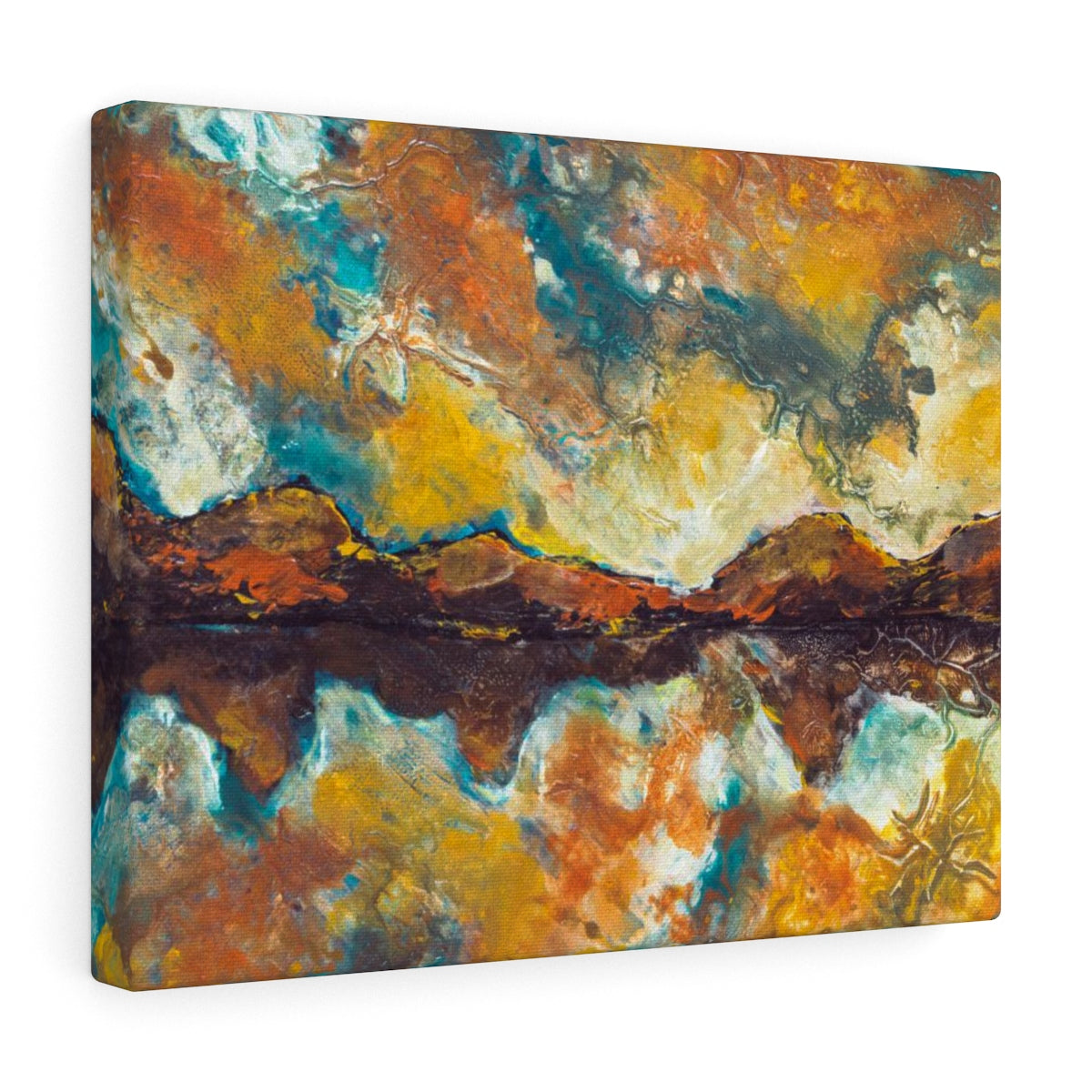Mountain Canvas Print - Abstract Wall Decor Made by Artist | Brandless Artist