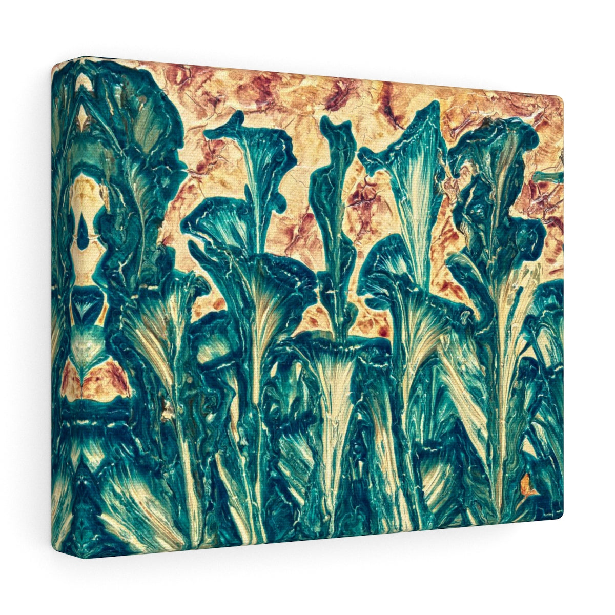 Abstract Floral Canvas Art - Inspired Wall Hanging | Brandless Artist