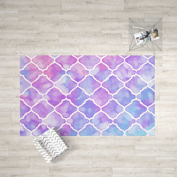 Pink Moroccan Dobby Rug | Brandless Artist