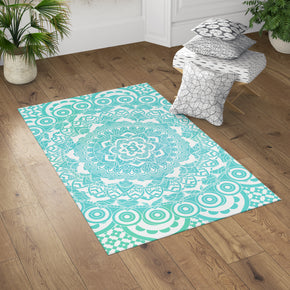 Sea Mandala Rug in Room | Brandless Artist