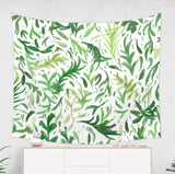 Leaf Tapestry Botanical Greenery Wall Hanging