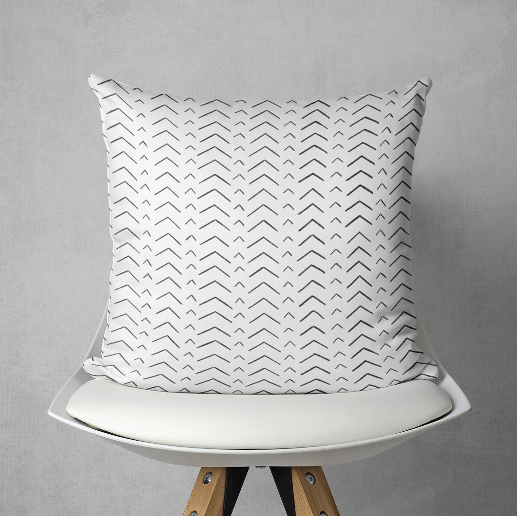 Chevron Couch Pillow - Tribal Arrow Couch Decor | Brandless Artist