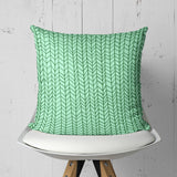 Mint Throw Pillow - Tribal Home Decor | Brandless Artist