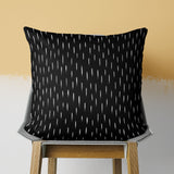 Black Pillow - Modern Cushion Cover | Brandless Artist