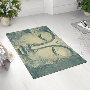 Yellow Buddha Area Rug - Yellow Green Buddha Rug | Brandless Artist