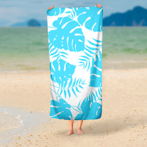 Tropical Beach Towel - Palm Leaves Towel | Brandless Artist