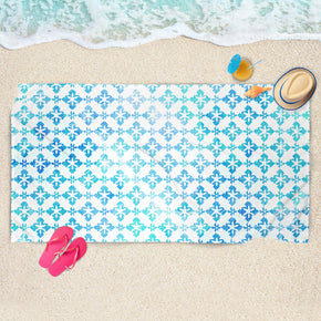 Blue Moroccan Beach Towel - Blue Towel | Brandless Artist