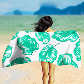 Palm Leaf Beach Towel - Tropical Beach Towel | Brandless Artist