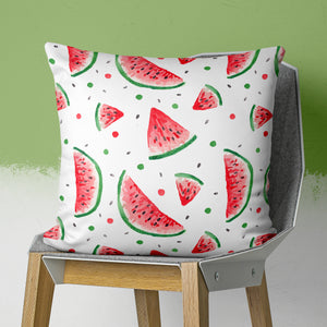 Watermelon Pillow - Watercolor Pattern Pillow | Brandless Artist
