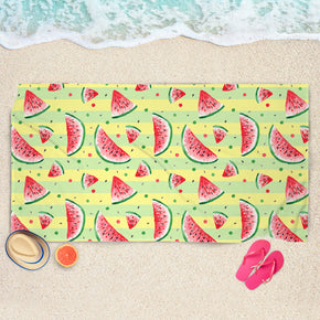 Summer Watermelon Towel - Huge Beach Towel | Brandless Artist
