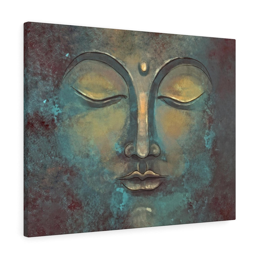 Rustic Buddha Canvas Art - Buddha Wall Art | Brandless Artist