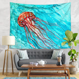 Jellyfish Tapestry Wall Hanging - Summer Home Decor  | Brandless Artist