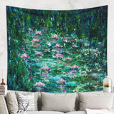 Lake Tapestry Impressionist Wall Hanging | Brandless Artist