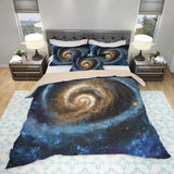 Galaxy Bedding Set Scientific Duvet Cover