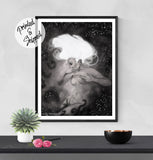 Losing Surrealist Print - Fantasy Art Print | Brandless Artist