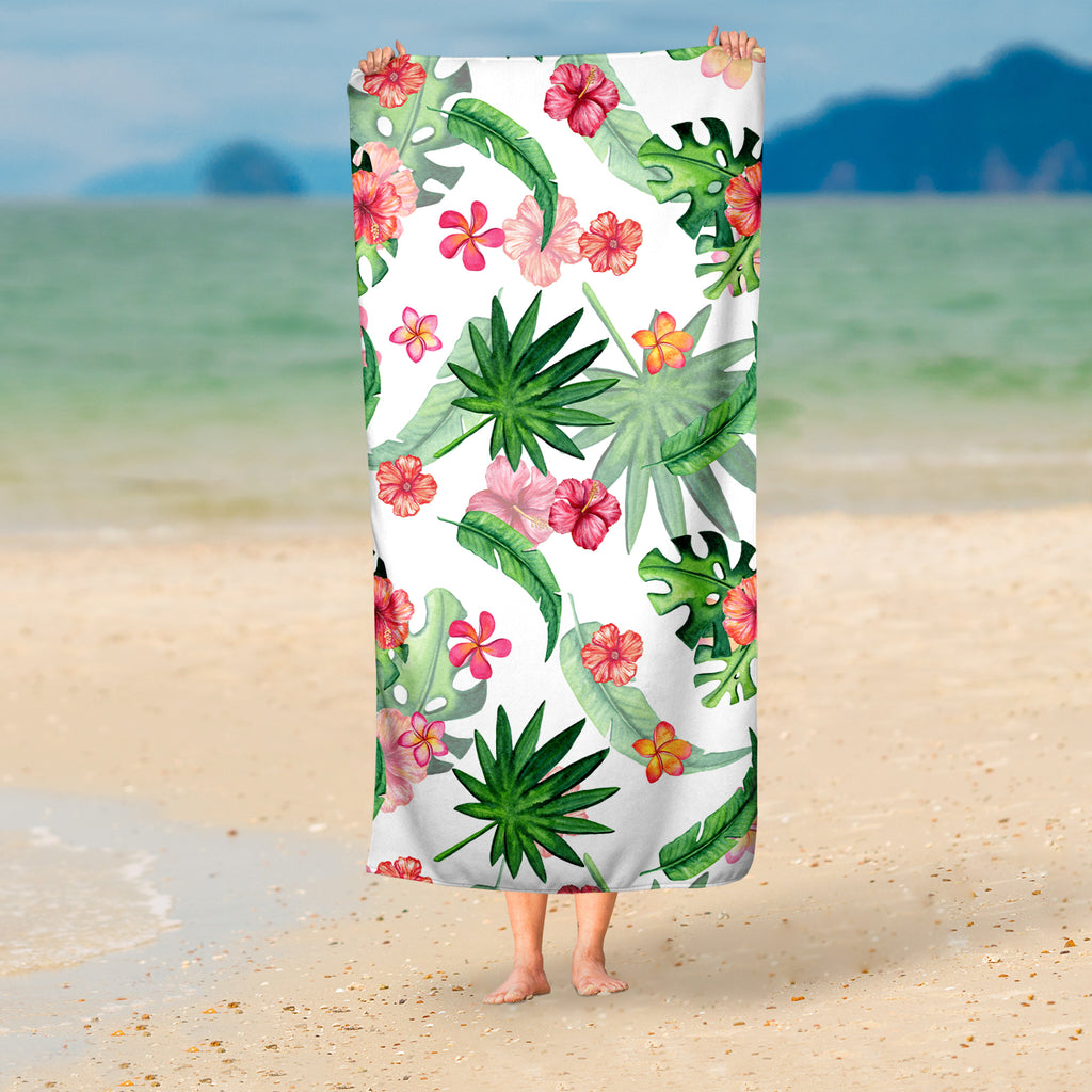 Tropical Beach Towel - Summer Towel | Brandless Artist