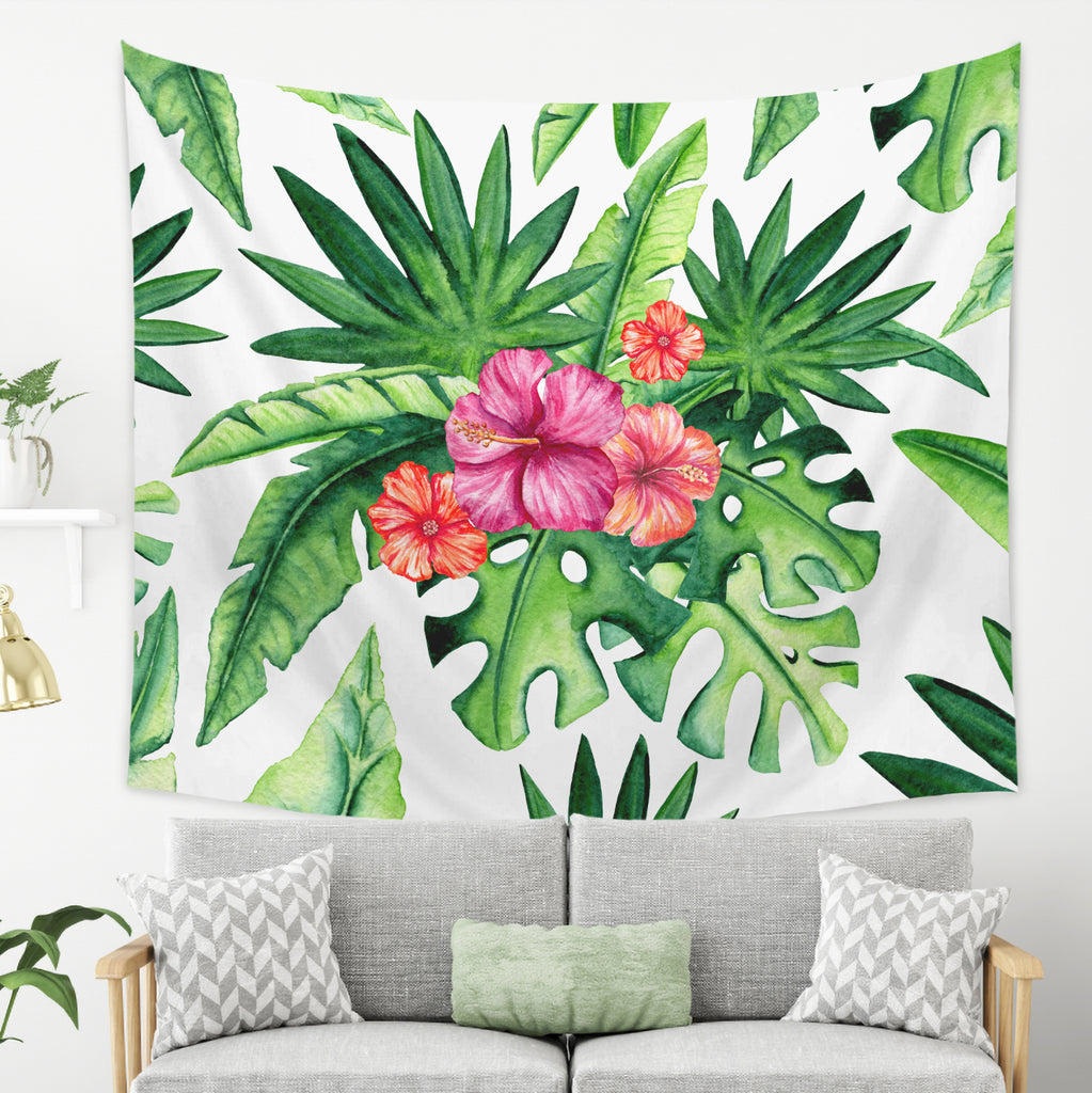 Tropical Tapestry - Summer Wall Hanging | Brandless Artist