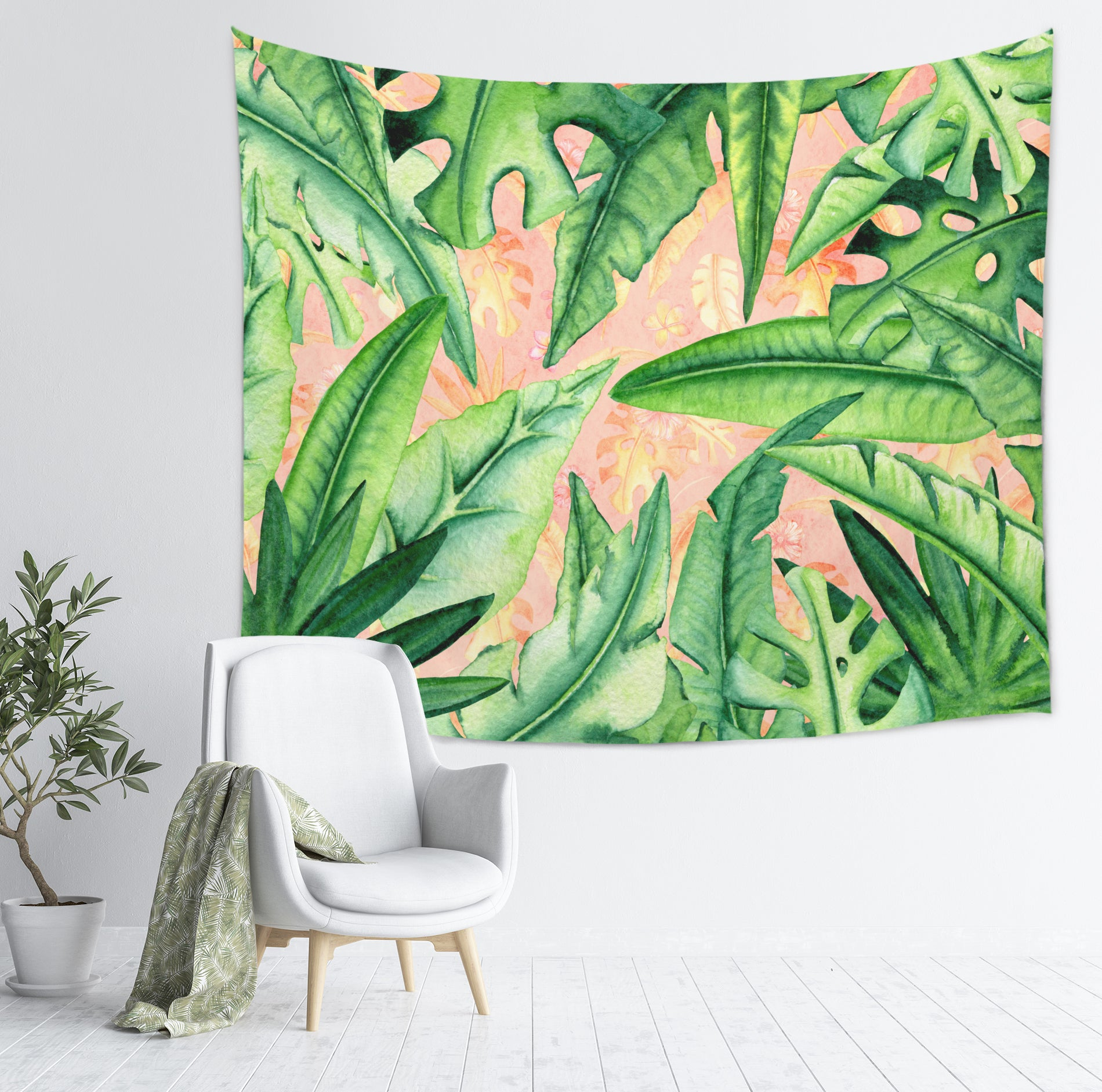 Tropical Wall Tapestry - Summer Wall Decor | Brandless Artist