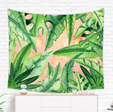 Tropical Leaf Tapestry - Tropical Wall Hanging | Brandless Artist