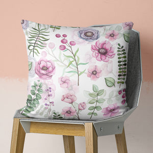 Gentle Floral Pillow - Flower Throw Pillow | Brandless Artist