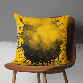 Urban Pillow Cover - Orange Teenager Throw Pillow | Brandless Artist