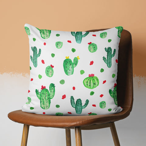 Cactus Throw Pillow - Cacti Pattern Pillow | Brandless Artist