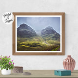 Mountain Photo Print - Mountain Wall Art | Brandless Artist