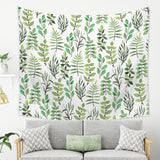 Greenery Tapestry - Green Botanical Large Wall Hanging | Brandless Artist