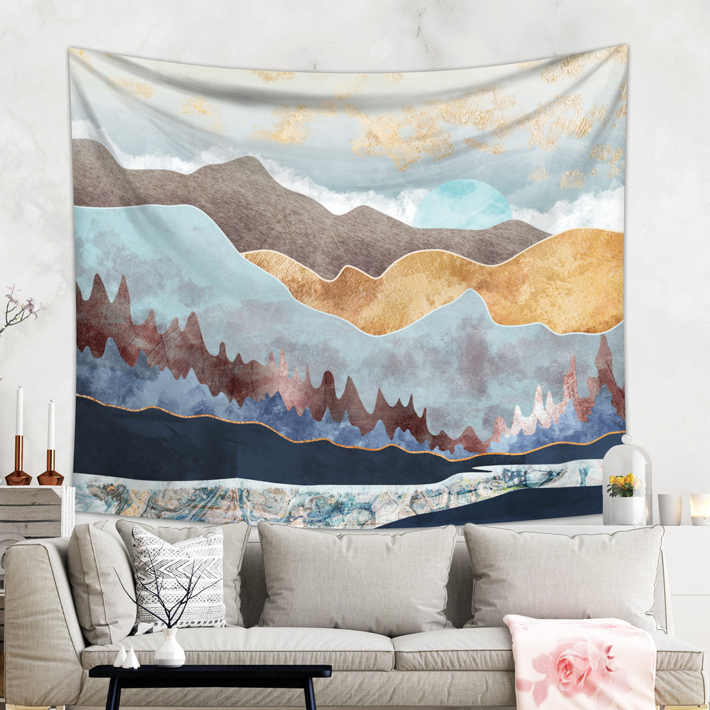 Blue Mountains Wilderness Wall Hanging | Brandless Artist