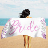 Custom Beach Towel - Personalized Beach Towel - Custom Name Towel | Brandless Artist