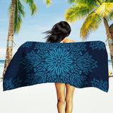 Midnight Beach Towel - Dark Blue Beach Towel | Brandless Artist