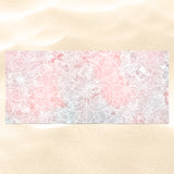 Pink Beach Towel - Mandala Beach Towel for Her | Brandless Artist