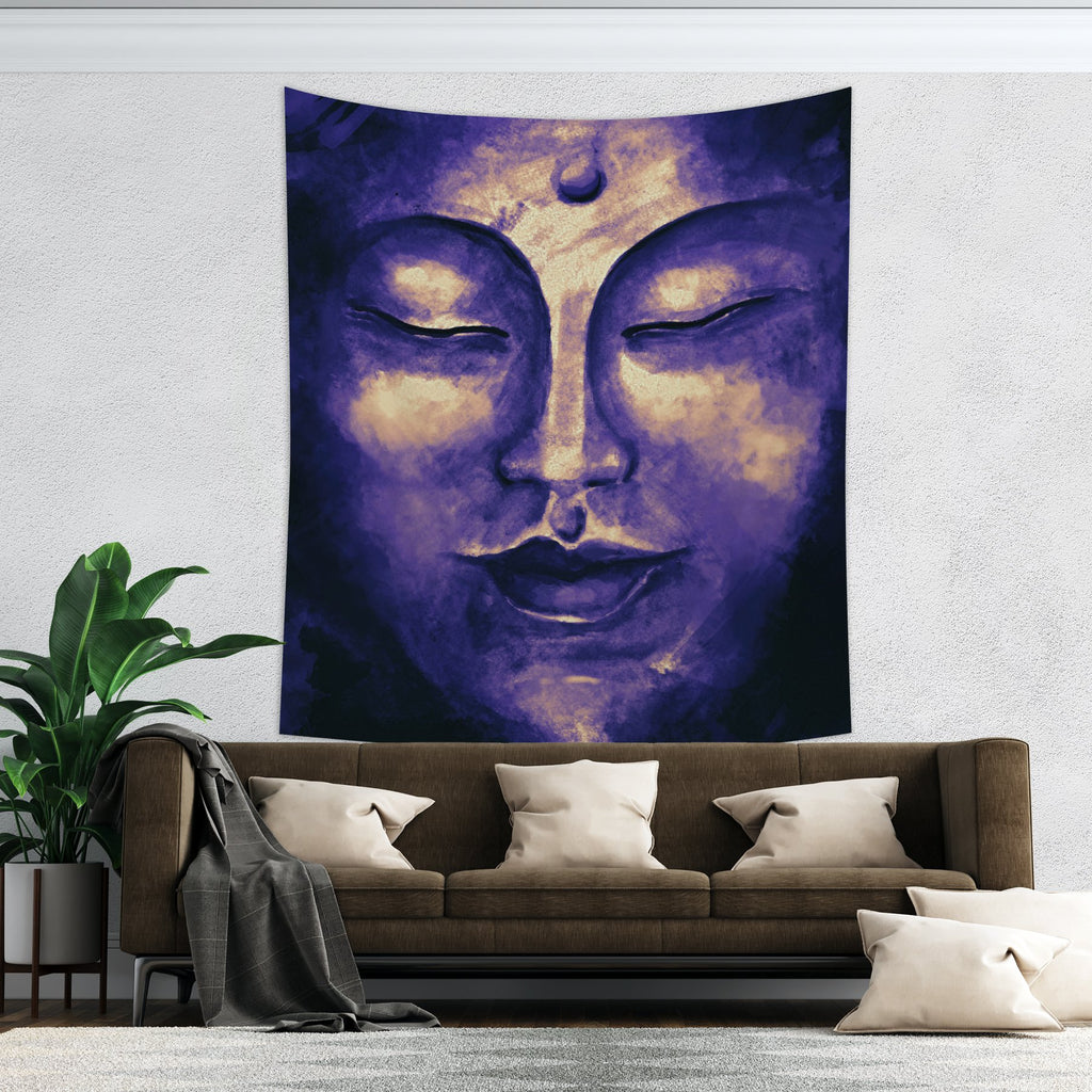 Buddha Tapestry Meditation Wall Hanging - Zen Home Decor | Brandless Artist