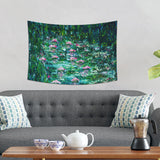 Green Tapestry Wall Hanging Home Decor | Brandless Artist