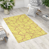 Area Rug for Kids - Yellow Machine Washable Rug | Brandless Artist