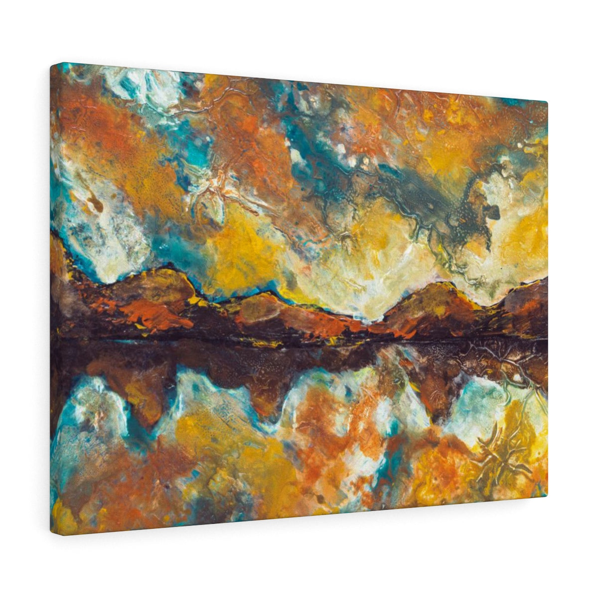 Landscape Painting Canvas Art - Inspired Scenic Home Decor | Brandless Artist