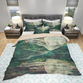 Night Mountain Bedding Rustic Bedroom Decor