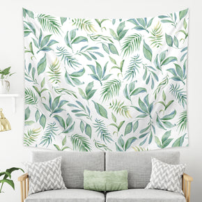 Green Botanical Tapestry - Greenery Wall Tapestry | Brandless Artist
